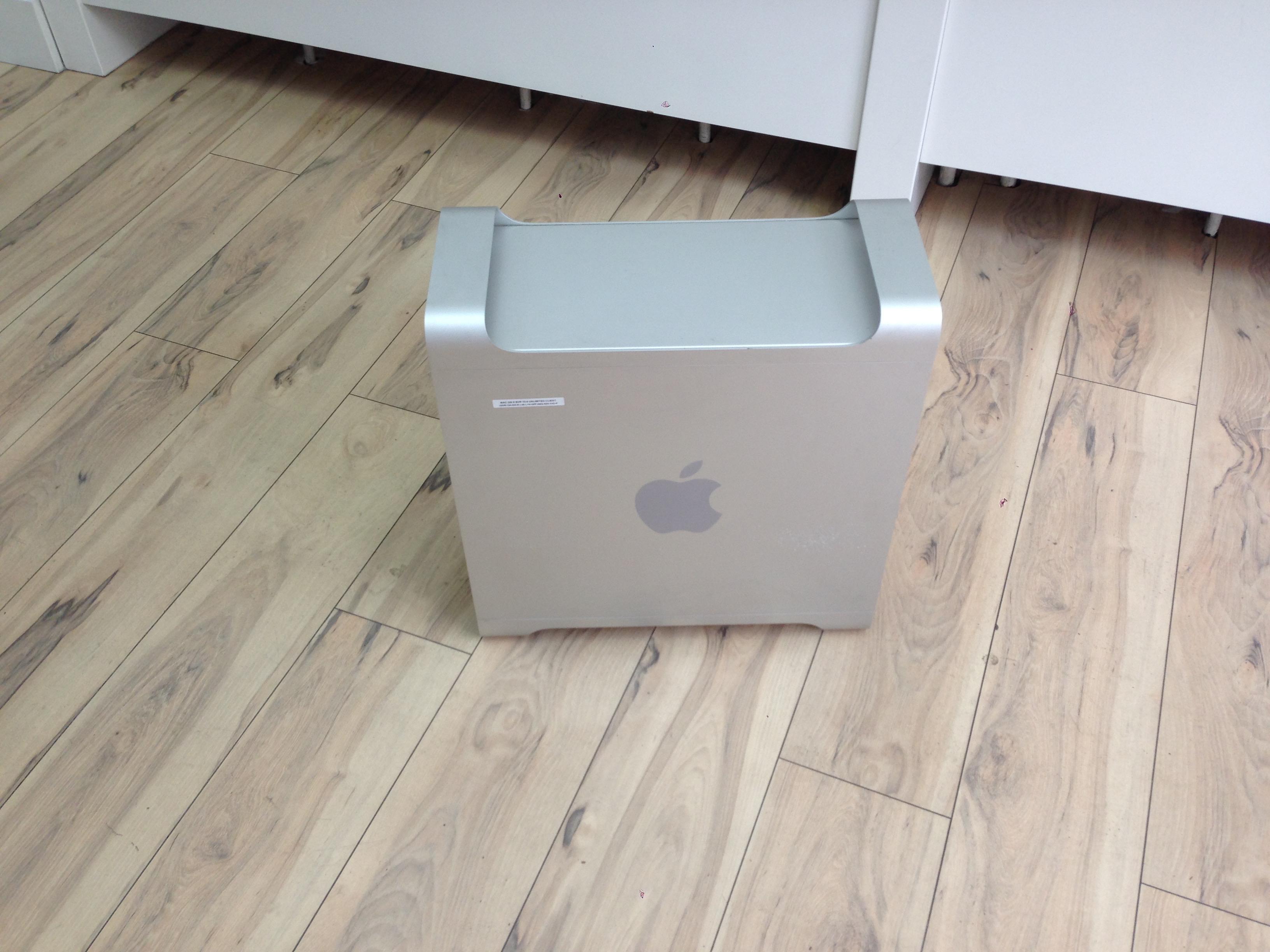 PowerMac G5 odmah nakon penzionisanja